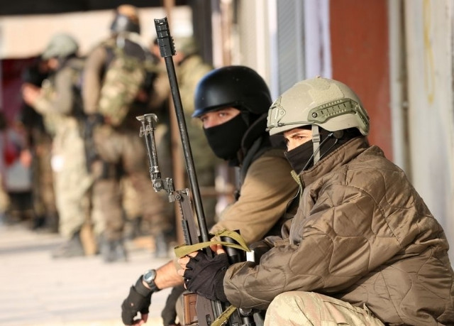 Silopi ve Cizre'deki operasyondan çarpıcı görüntüler