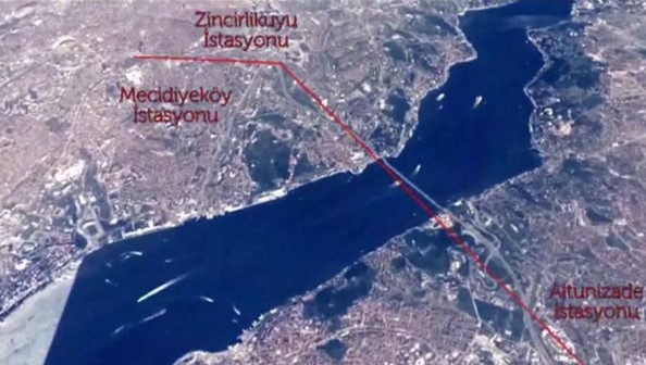Mecidiyeköy - Çamlıca teleferik hattı için çalışmalar başladı