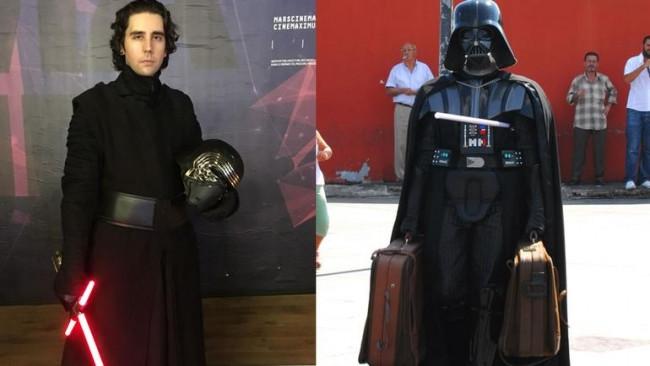 Bunlar da Türk işi Darth Vader'lar!