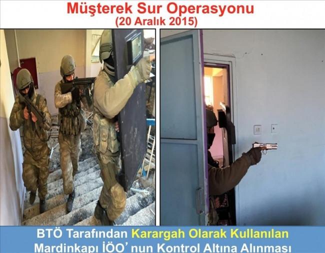 Sur'daki terör operasyonundan sonra kareler