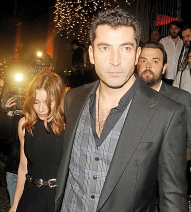 Kenan İmirzalıoğlu ile Sinem Kobal, trafik kontrolüne takıldı