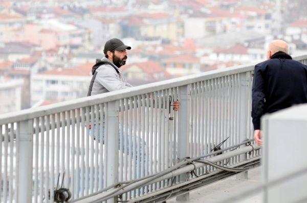 Boğaziçi Köprüsü'ndeki intihar girişimine Erdoğan'dan müdahale