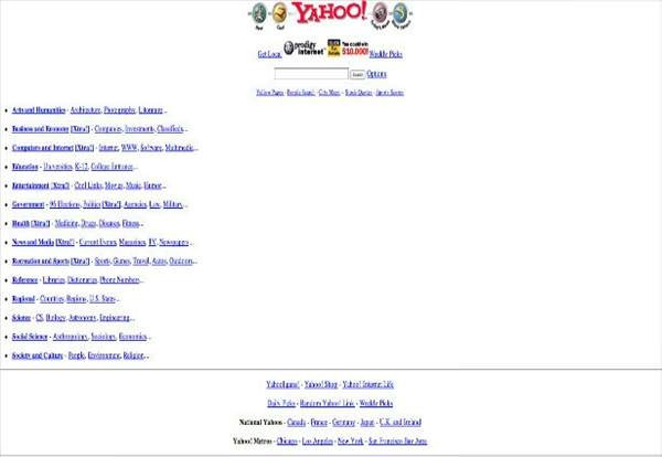Dünyanın en büyük siteleri ilk çıktığında nasıldı?