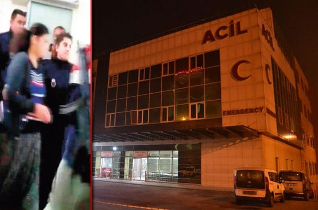 İşkenceci anne Ankara'ya nakledildi