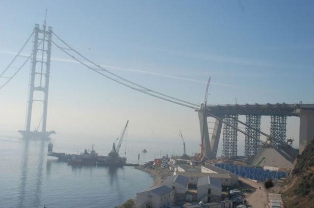 İzmir otoyolu projesinde çalışmalar devam ediyor