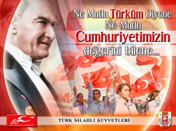 TSKdan 29 Ekim Afişleri