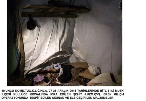 Terör örgütü sığınağından Kürtçe İncil çıktı
