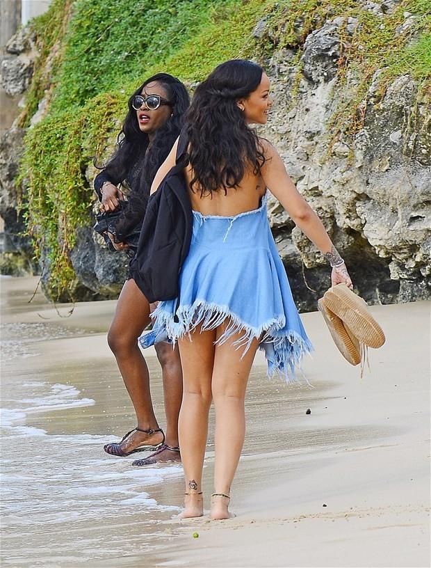 Rihanna memleketinde