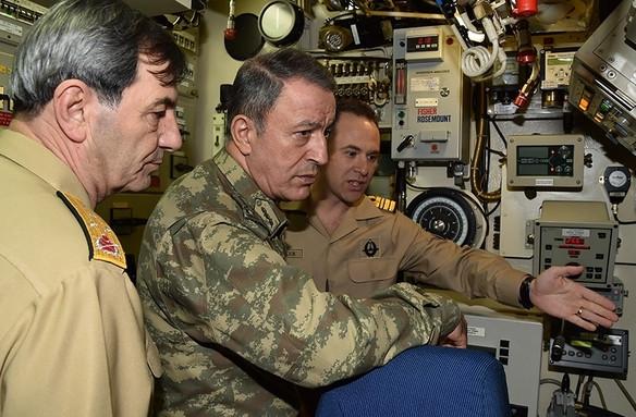 Genelkurmay Başkanı Doğu Akdeniz'e gitti