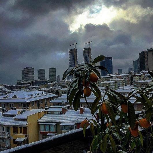 Instagram'da kar fotoğrafları