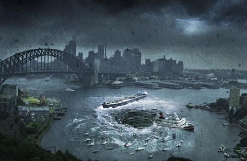 Dünyanın sonunu fotoğrafladı