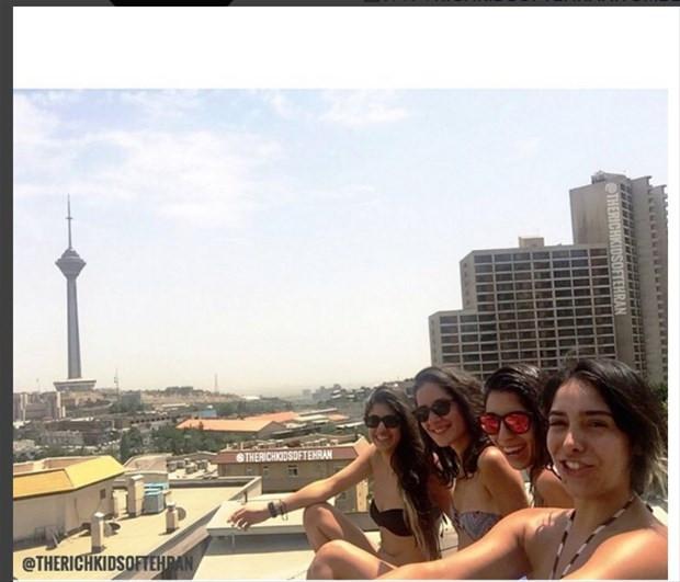 Tahran'ın zengin gençleri Instagram'da