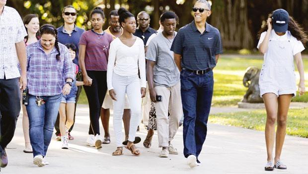 Obamalar'ın tatili ABD'yi gerdi