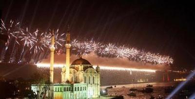 İstanbul boğazı hiç böyle olmamıştı