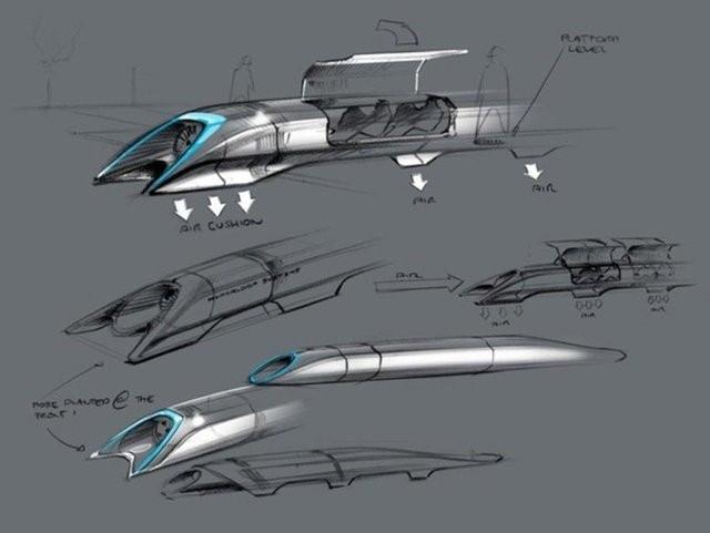 Hyperloop ile 560 kilometrelik mesafe 45 dakika