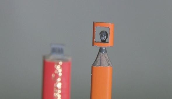 Kalemin ucuna bakın ne yaptı?