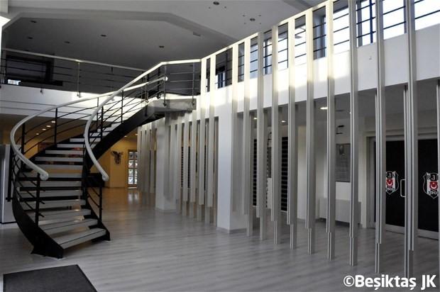 Beşiktaş'ın tesisleri yenilendi