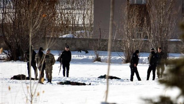 Van'da PKK'lıların kaldığı villa