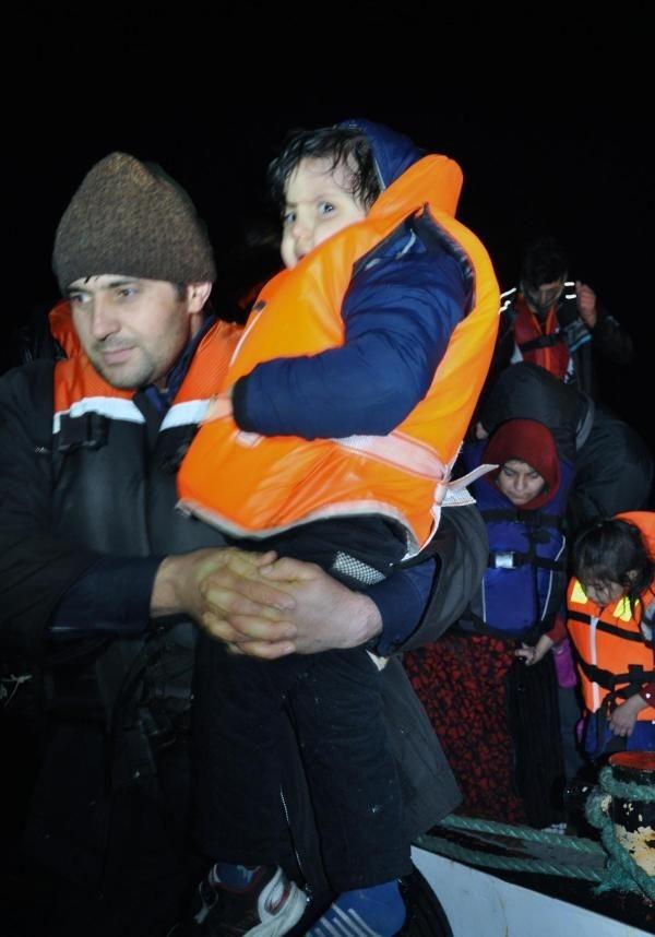 65 Suriyeli'yi balıkçılar kurtardı