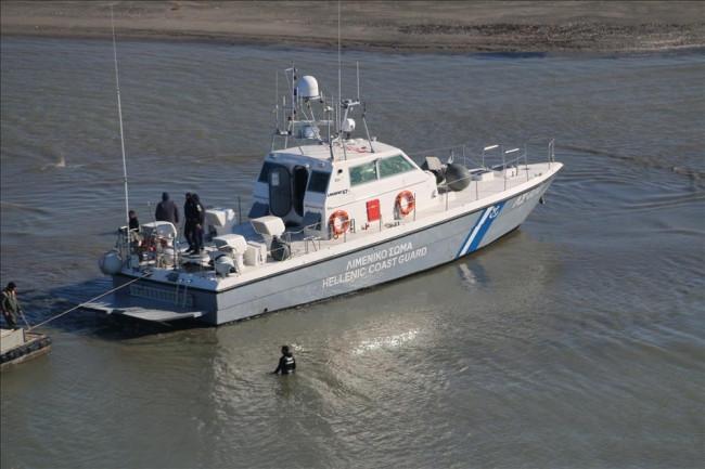 Yunan Sahil güvenlik botunu kurtardık