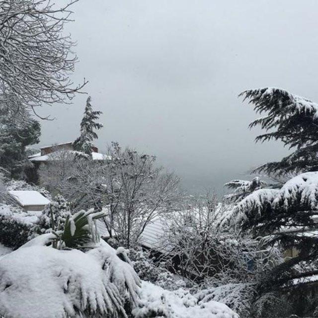 Ünlülerin Instagram'daki kar paylaşımları