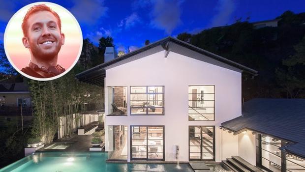 Calvin Harris'in 10 milyon dolarlık muhteşem evi