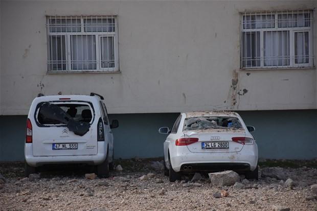 Mardin'de patlamanın şiddeti gündüz ortaya çıktı !