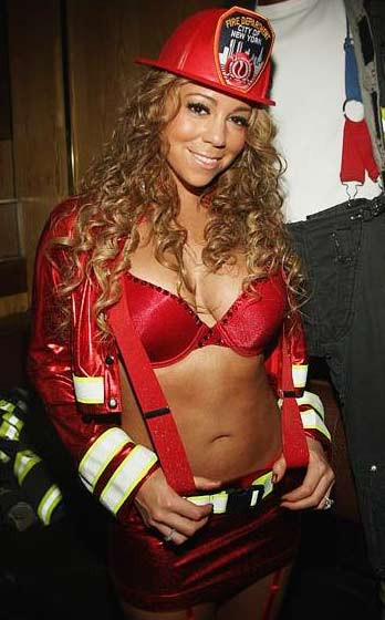 Mariah Carey itfaiyeci oldu