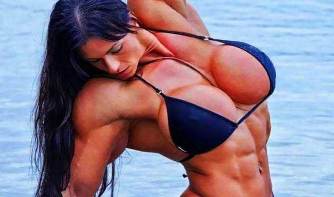 Kadınlar vücut geliştirme yaparsa nasıl olur?
