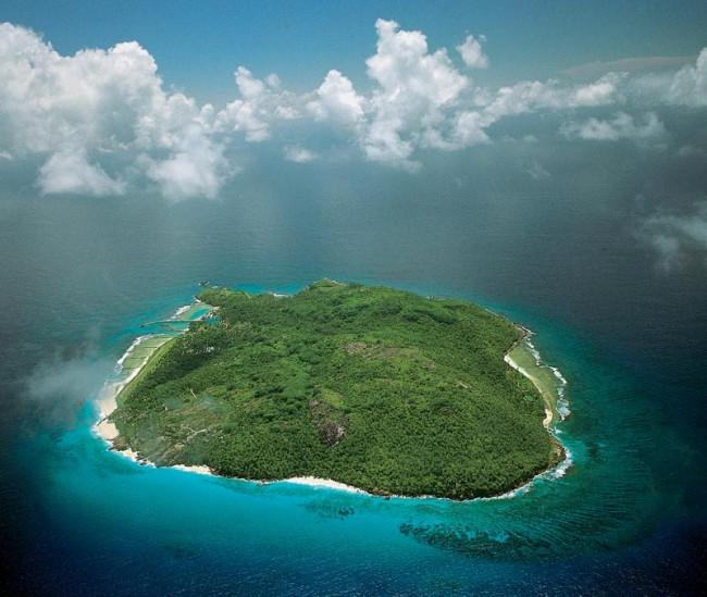 Jet sosyetenin mekanı: Fregate Adası