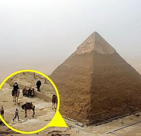 Alman turistin piramit macerası