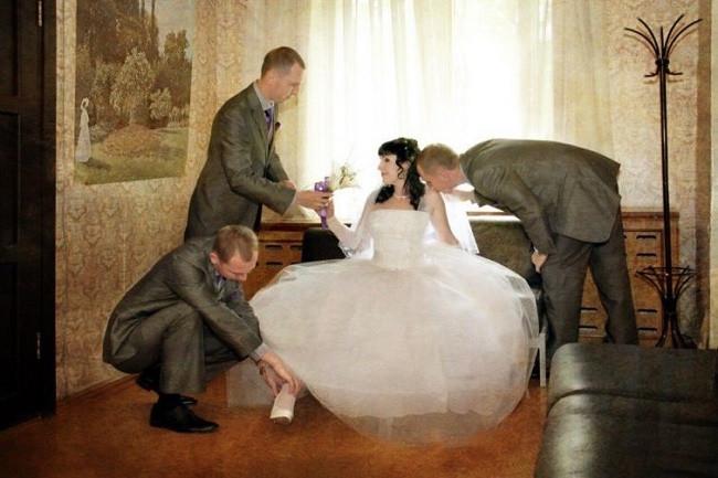 Böyle düğün fotoğrafı görmediniz !