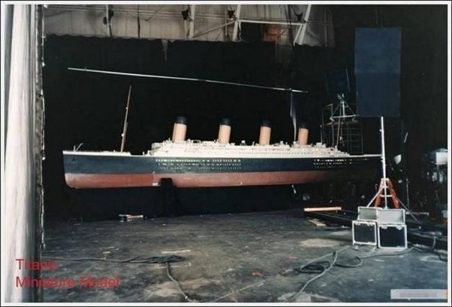 Titanic'in kamera arkası görüntüleri