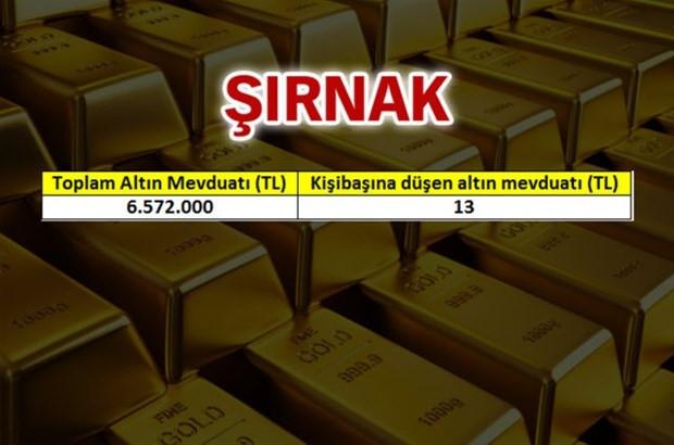 İşte Türkiye'nin altın zengini şehirleri