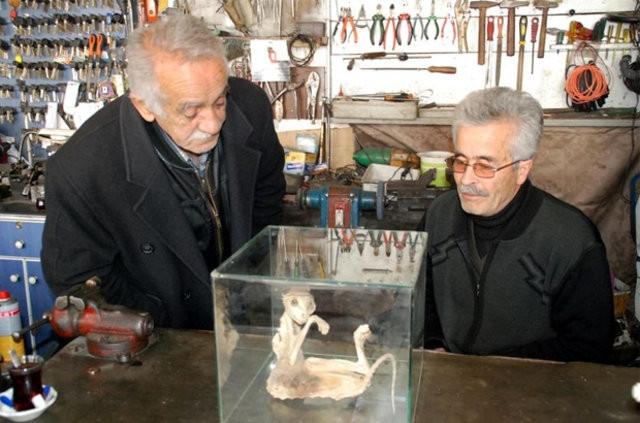Arkeologlar şok eden iskelet