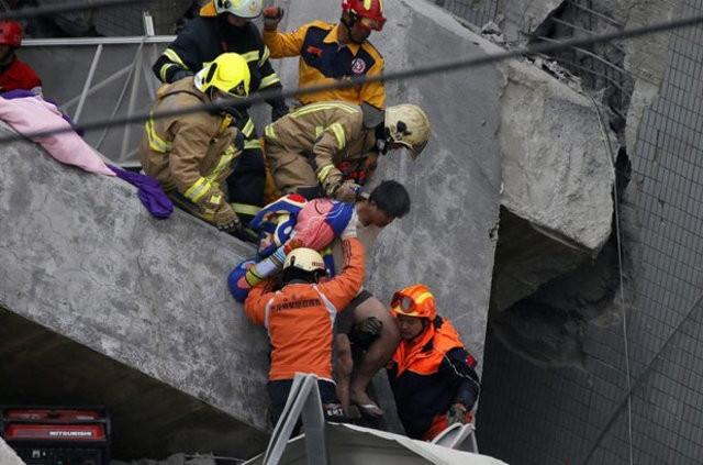 Tayvan'daki depremde ölü sayısı artıyor