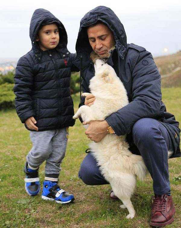 İzzet Yıldızhan'ın köpeği kayboldu