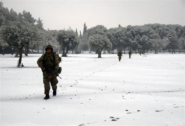 Asker ve polisten ortak terörle mücadele eğitimi
