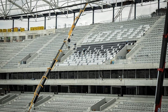 Vodafone Arena'da şok gelişme!