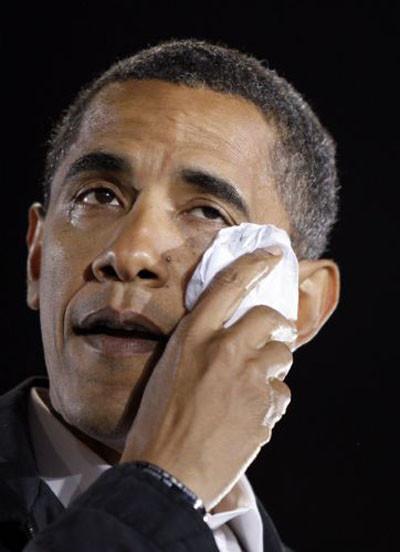 Yoksa bu gözyaşları yalan mı Obama?