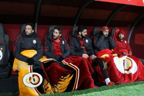 Galatasaray - Kastamonuspor maçından kareler