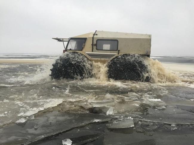Rus mühendisten Sherp ATV