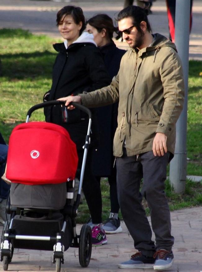 Ali Bilgin ailesiyle Maçka Parkı'nda
