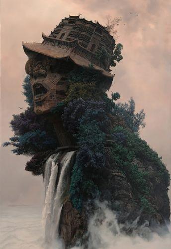 Çinli sanatçı herkese hayranlık uyandırdı
