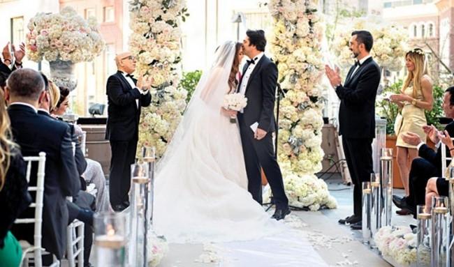 Mahsun Kırmızıgül'ün düğününden kareler