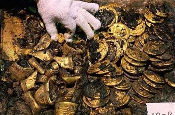 2000 yıllık hazine bulundu