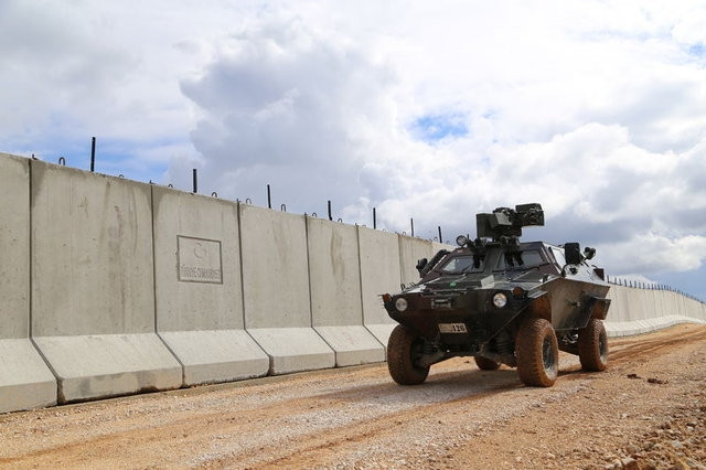 Hatay'da sınıra 72 kilometre duvar örülecek