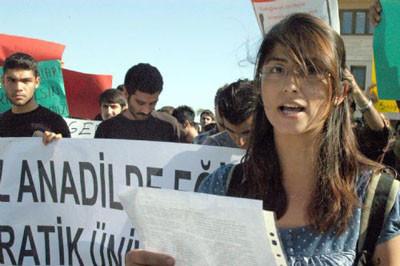 YÖKe tabutlu protesto