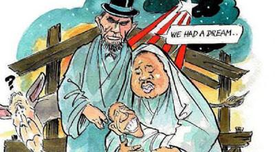 Dünyadan Obama karikatürleri