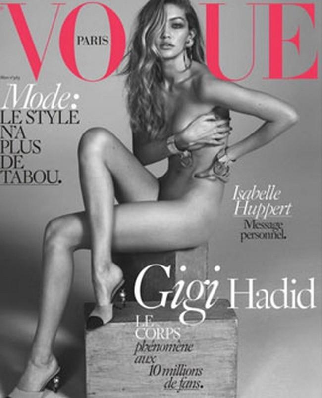 Gigi Hadid hayranlarını kızdıran kapak